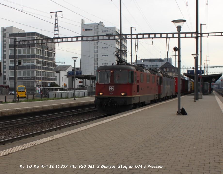 18 .Re 10-Re 44 II 11337 +Re 620 061-3 Gampel-Steg en UM à Pratteln 31.03..jpg