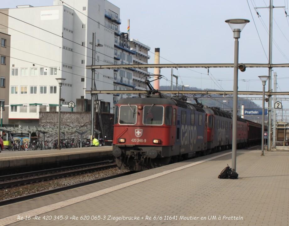 19. Re 16 -Re 420 345-9 +Re 620 065-3 Ziegelbrücke + Re 66 11641 Moutier en UM à Pratteln 31.03..jpg