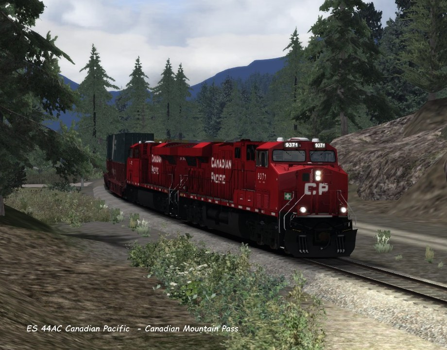 ES 44AC Canadian Pacific  - Canadian Mountain Pass 20.04..jpg