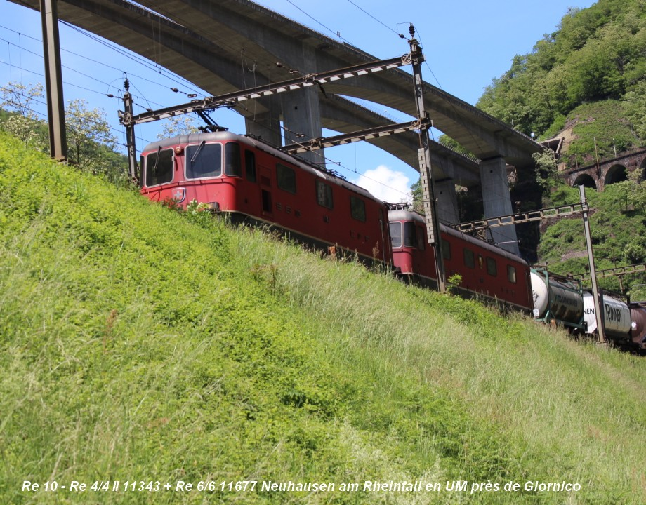 Re 10 - Re 44 II 11343 + Re 66 11677 Neuhausen am Rheinfall en UM près de Giornico.jpg