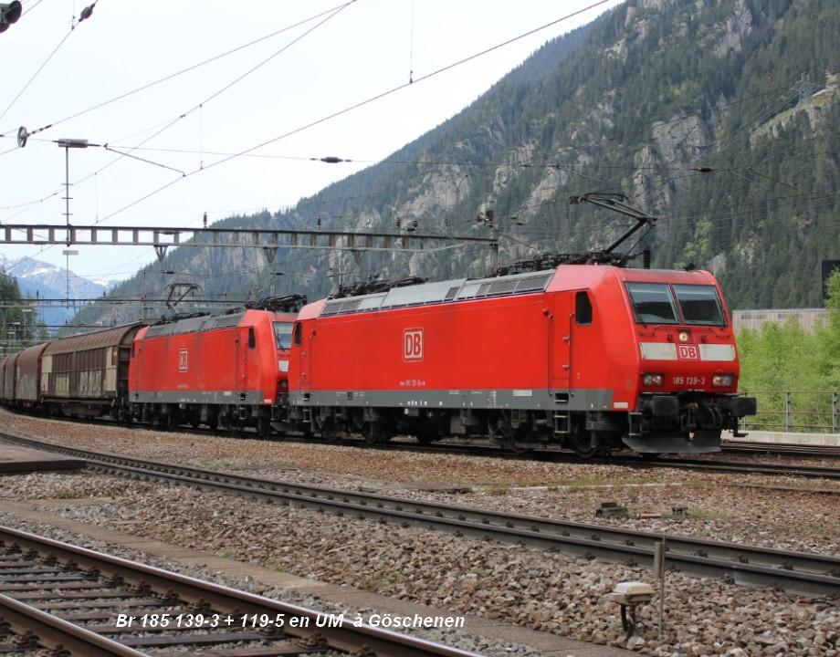 Br 185 139-3 + 119-5 en UM  à Göschenen ..jpg