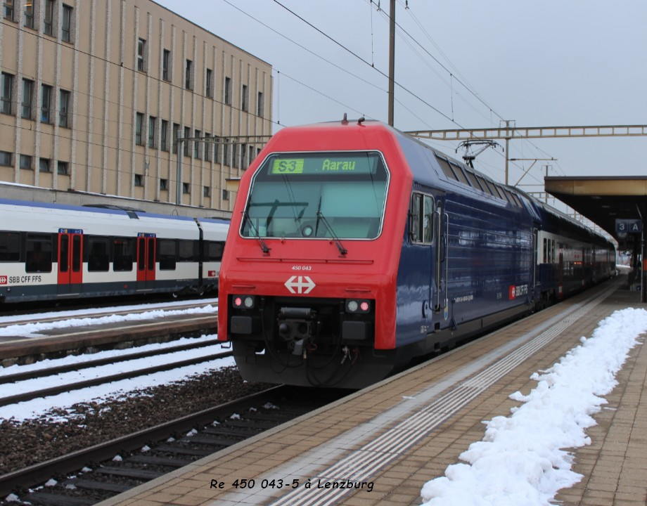 Re 450 043-5 à Lenzburg 16.01..jpg
