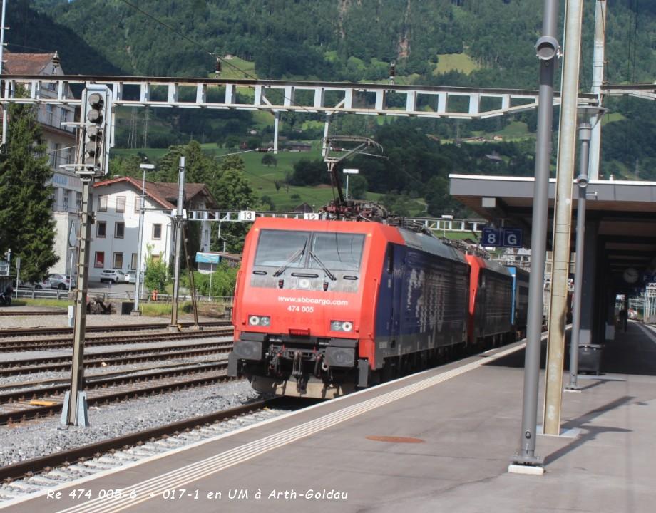 Re 474 005-6  + 017-1 en UM à Arth-Goldau ..jpg