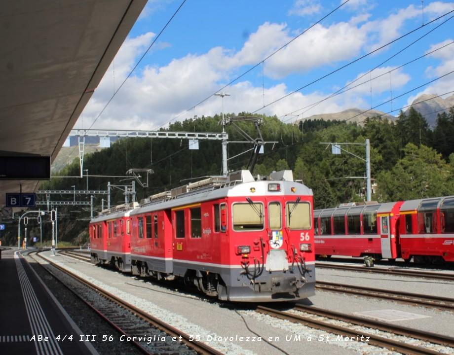 ABe 44 III 56 Corviglia et 55 Diavolezza en UM à St.Moritz..jpg