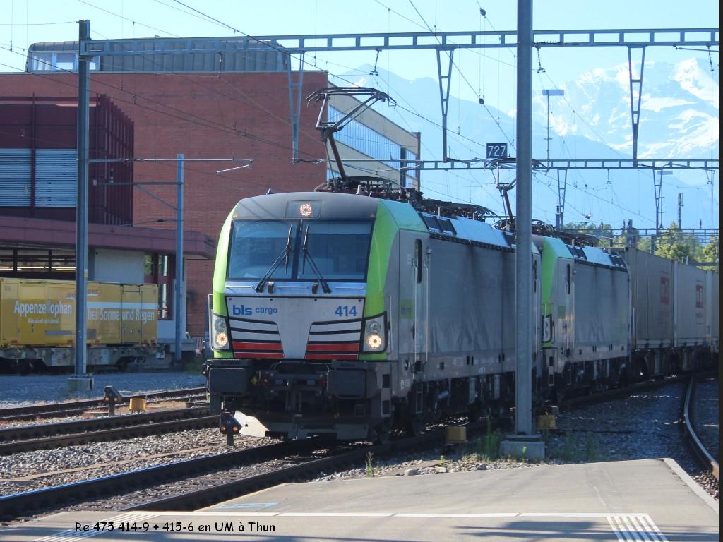 Re 475 414-9 + 415-6 en UM à Thun 27.06.jpg