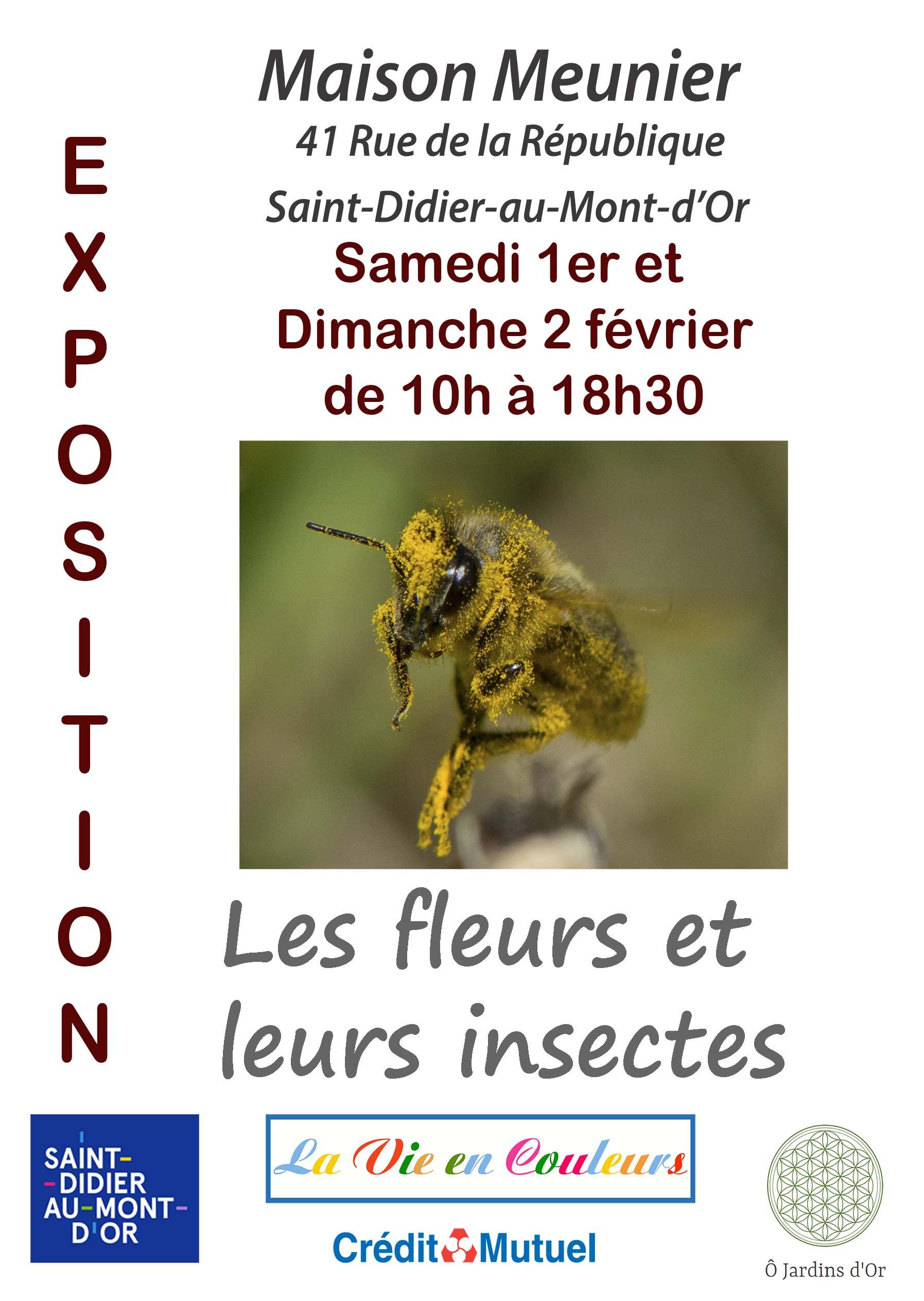 """Les Jardins Des Monts D Or exposition photos """"les pollinisateurs des monts d'or"""" - l a"""