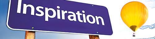 Panneau - insciption - inspiration