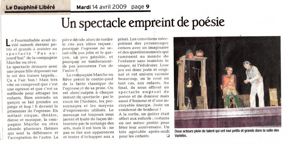 Article Dauphiné Libéré 14avr09.jpg