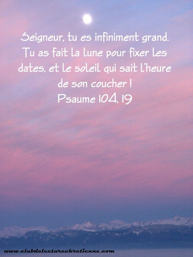 Psaumes 104.19