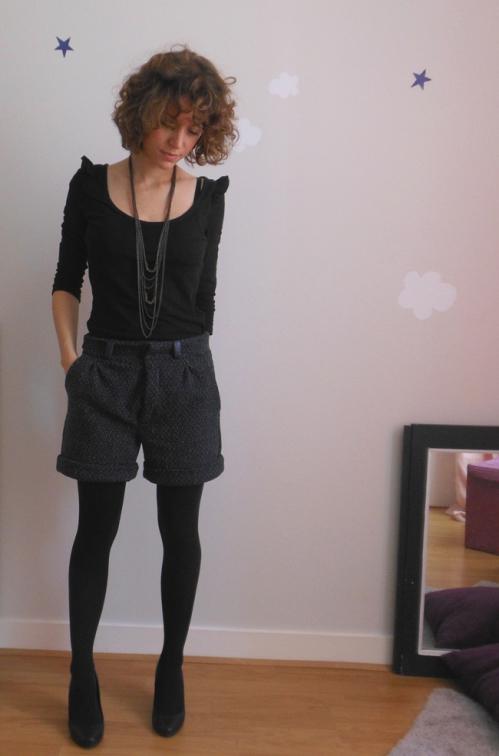 Couture short femme patron Burda N°115 06/10