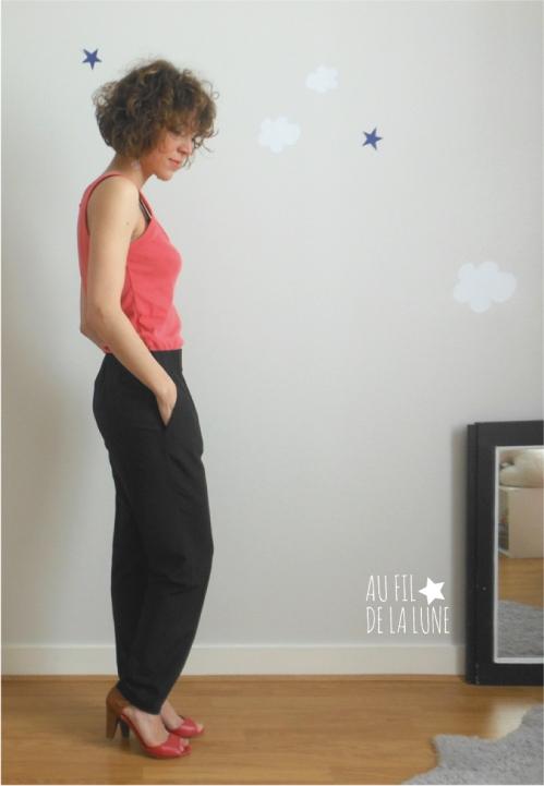pantalon jogging 112 burda 03/14 * Au fil de la Lune *