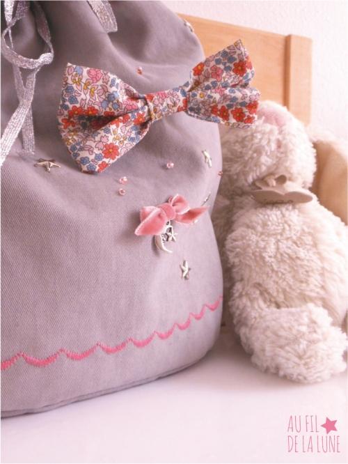 sac à dos bébé * Au fil de la Lune