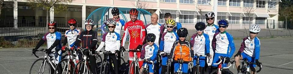 SALON cyclosport équipe  de sports amateur.