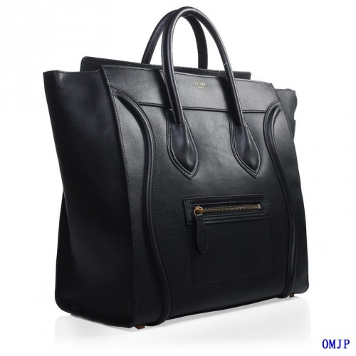 Sac Celine Luggage Small Noir 001_01.jpg