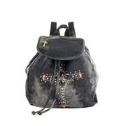 sac a dos en jean avec croix ornée de strass 2999 euros.jpg
