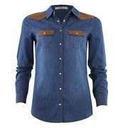 chemise en denim bleu 2499 euros épaulette maron.jpg