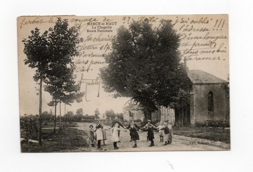 Quertlle vers 1921 avec enfants V2.jpg