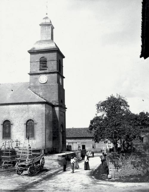 Eglise Mercy vers 1900.jpg