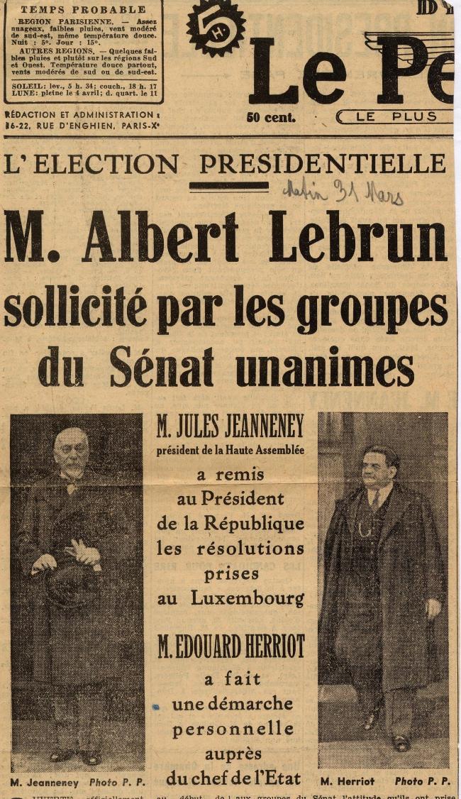 Reelection AL sollicite par groupes senat avril 1939.jpg