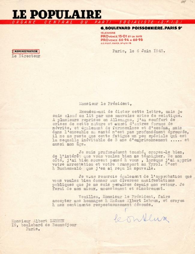 Lettre Léon Blum 6 juin 1945.jpg
