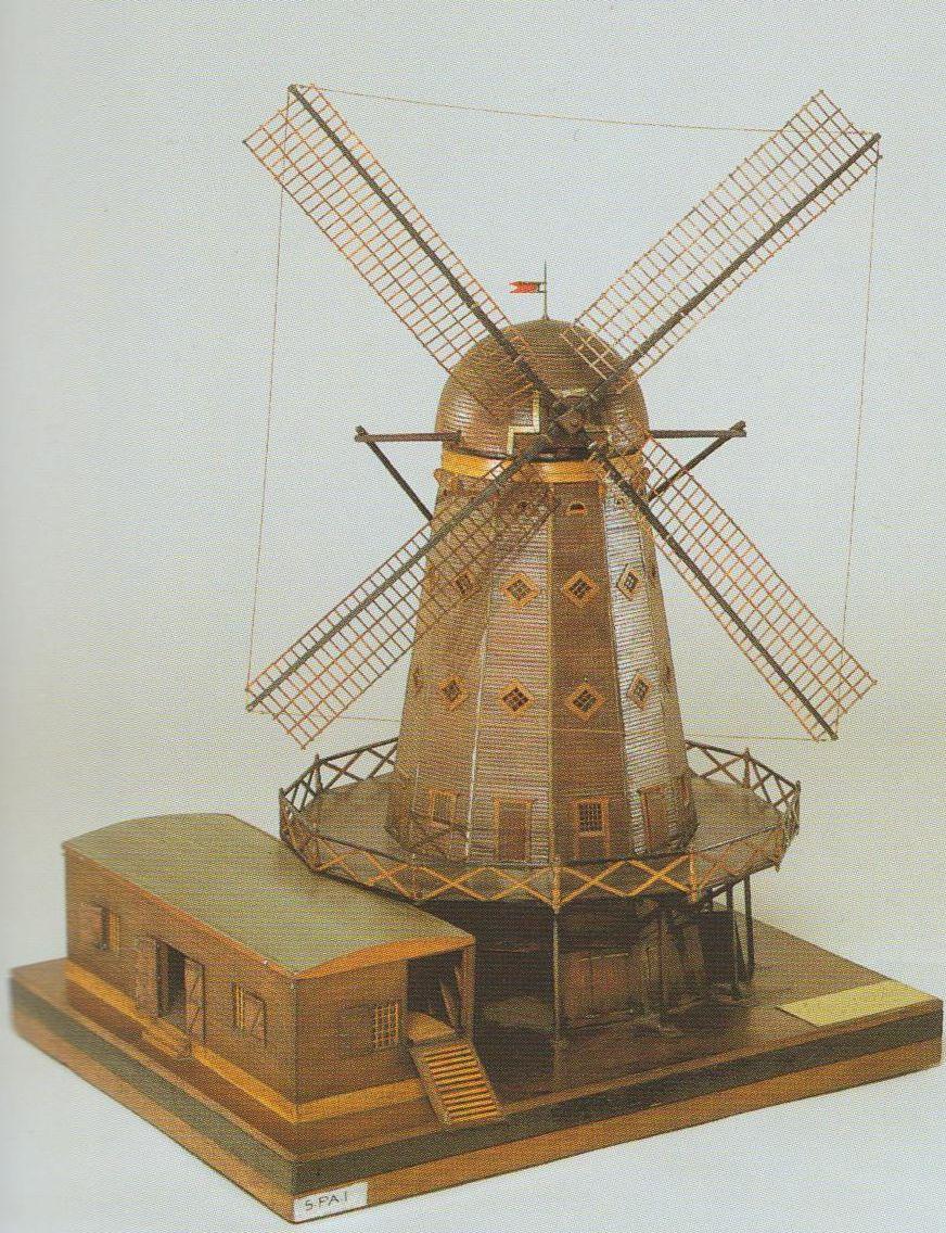 moulin à dévaser d'Hubert maquette Musée marine 001.jpg