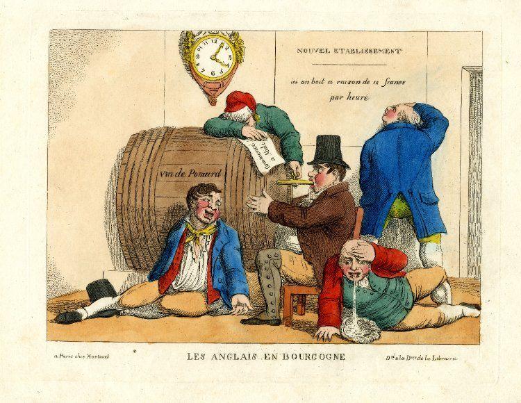 UTL caricatures 1814 Les Anglais en Bourgogne 16 11 2017.jpg