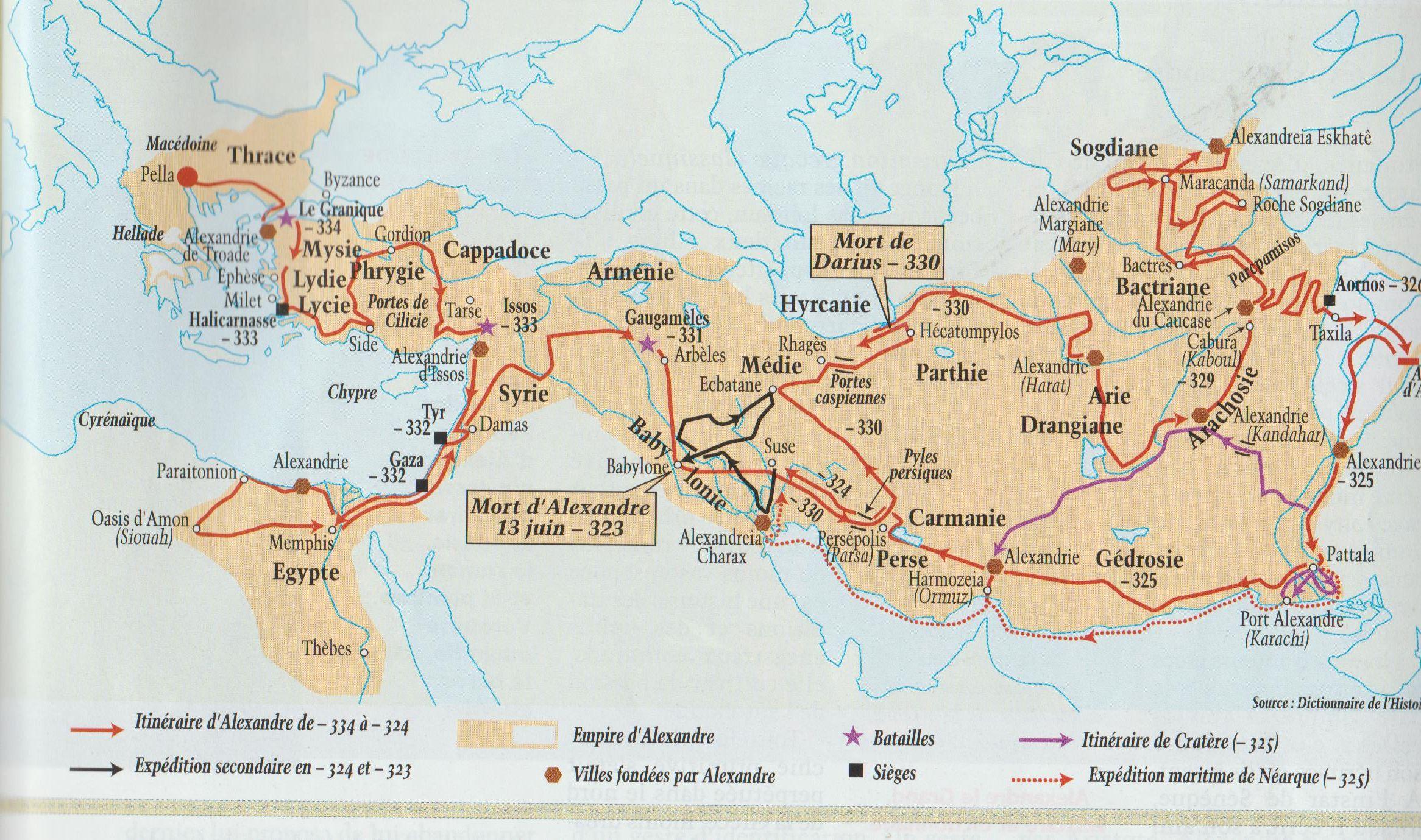Empire d'Alexandre  villes fondées 001.jpg