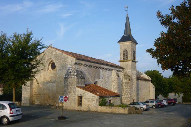 UTL grande marche 5 09 2018 église de Landrais Canal de Charras .jpg