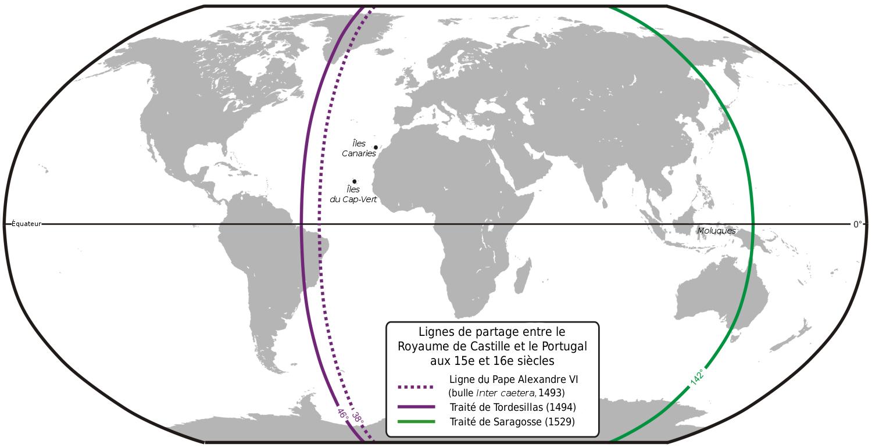 Ligne de partage espagnols portuguais.png