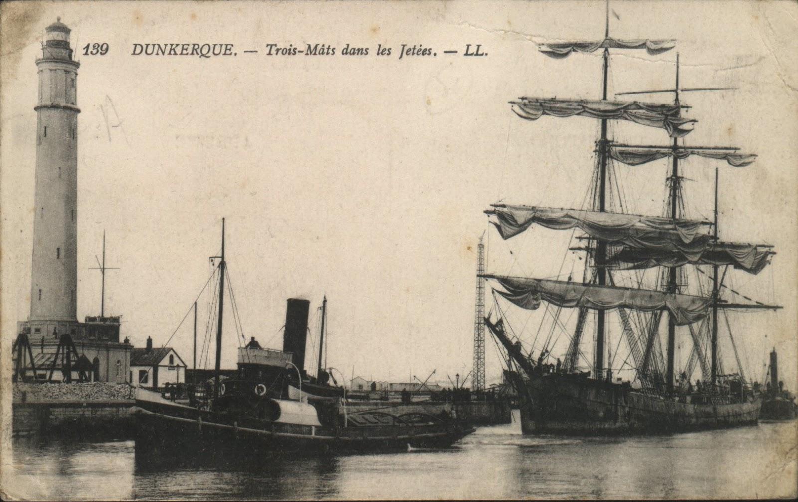 Dunkerque trois mats dans les jetees.jpg