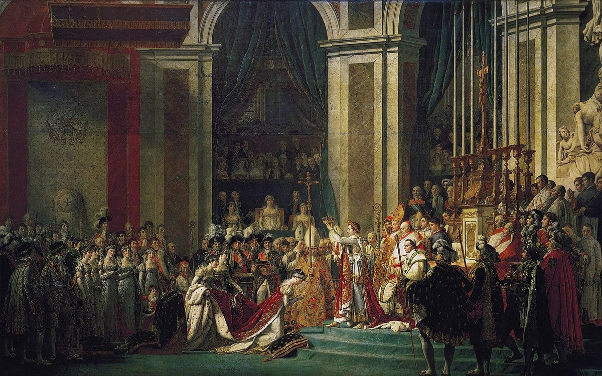 Le sacre de Napoléon -Jacques-Louis David.jpg