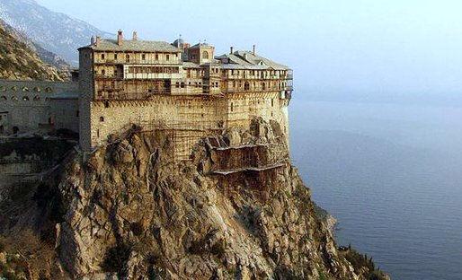 Mont-Athos monastere de Simonos petra 26 11 2018.jpg