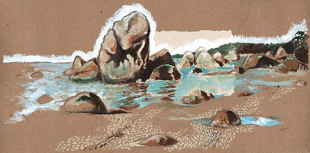 peinture sur bois Thomas Duranteau littoral rocher BD.jpg