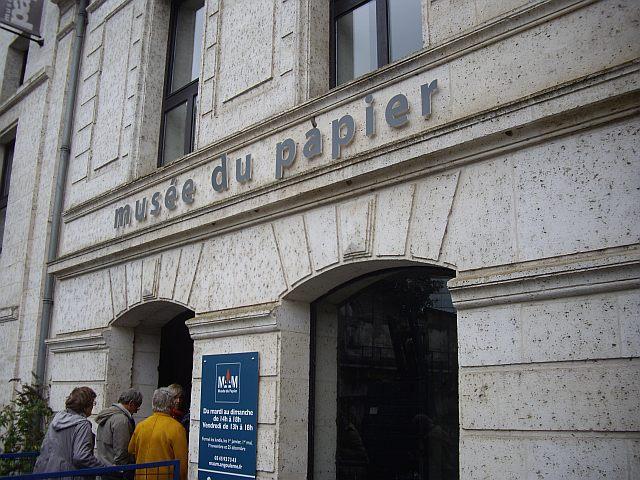 Musée du papier Entrée du moulin et papeterie.jpg