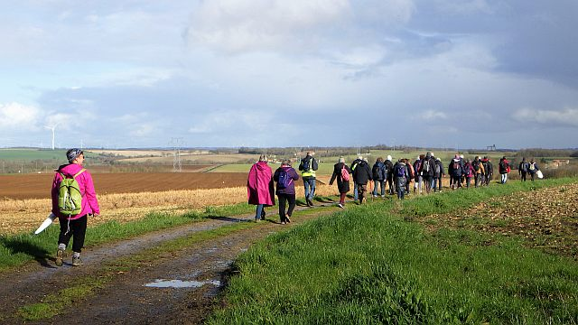 5  UTL petite marche Mmoragne retour sous le soleil vers le Four Blanc.jpg