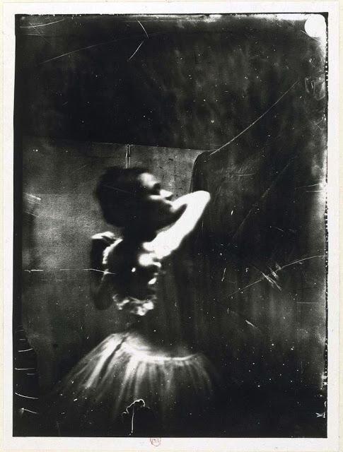 Edgar Degas ~ Dancer adjusting her shoulder strap ca. 1900.jpg