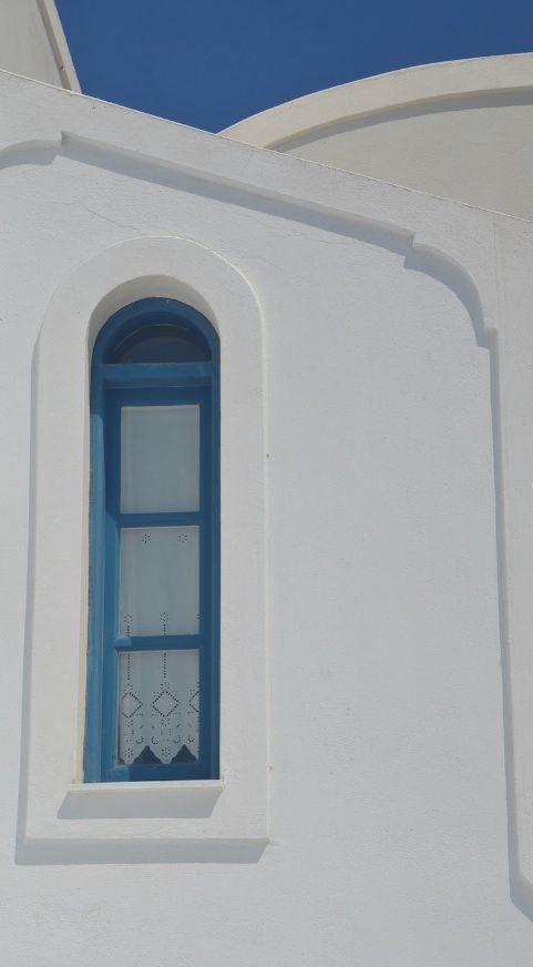 Photo de Fran: Fenêtre à Santorin