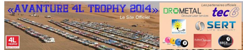 AVAnture 4l Trophy 2014 - Equipage N.475