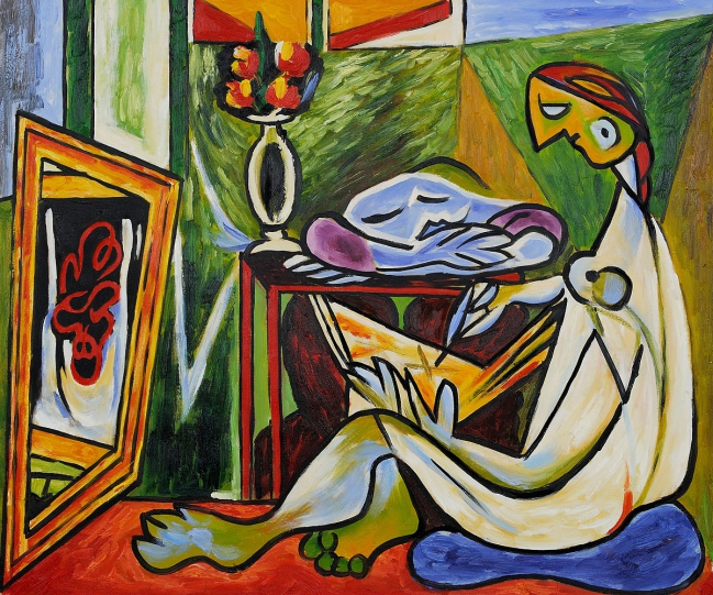 La Muse by Pablo Picasso OSA283.jpg