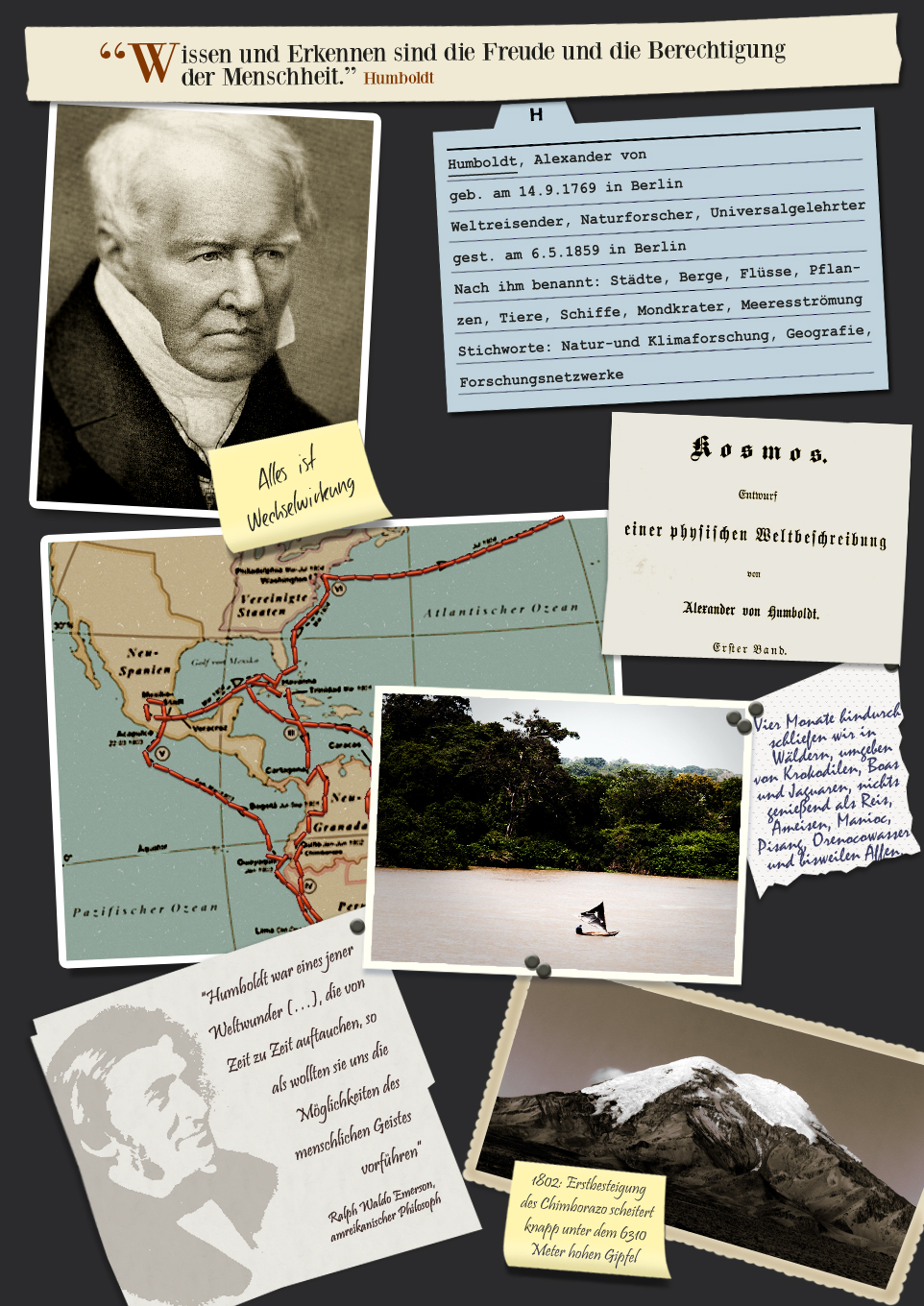 1 collage Alexander von Humboldt