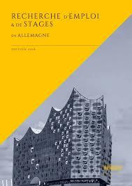 brochure stages Allemagne couverture