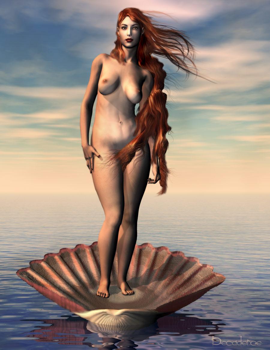 Aphrodite Nude Figurine Vintage Venus Statue