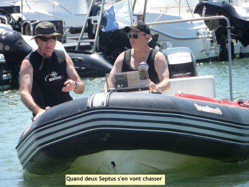 Yves Six et Roger Barthelet