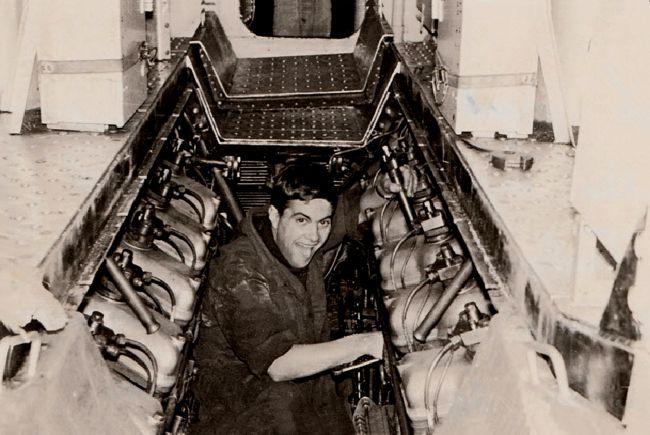 Travail diésel S/M FLORE 1964