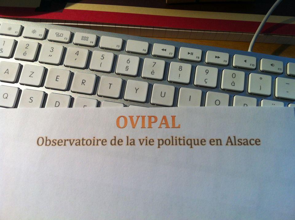 .       .   . . OVIPAL - OBSERVATOIRE DE LA VIE POLITIQUE EN ALSACE . . . .