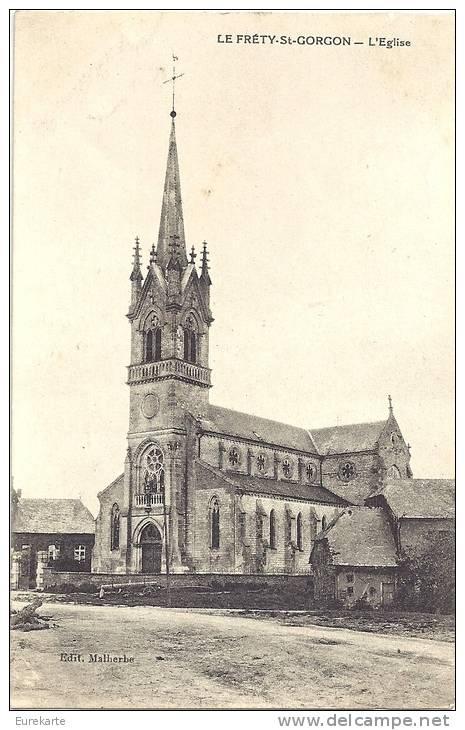 Le Fréty église CP.jpg