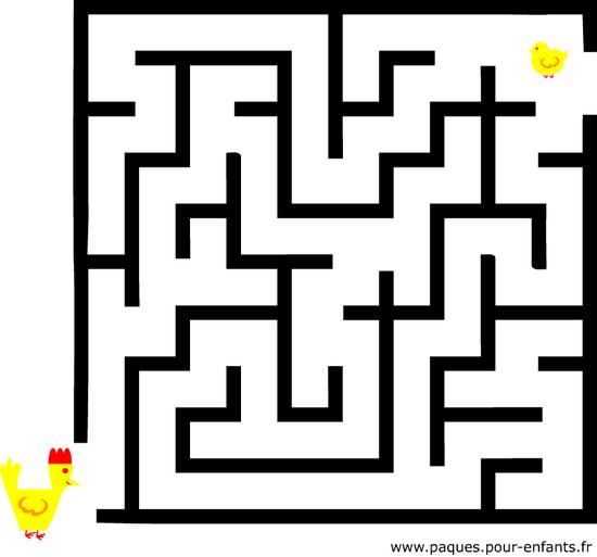 Le labyrinthe classe maternelle materptitelouts - Jeux labyrinthe a imprimer ...