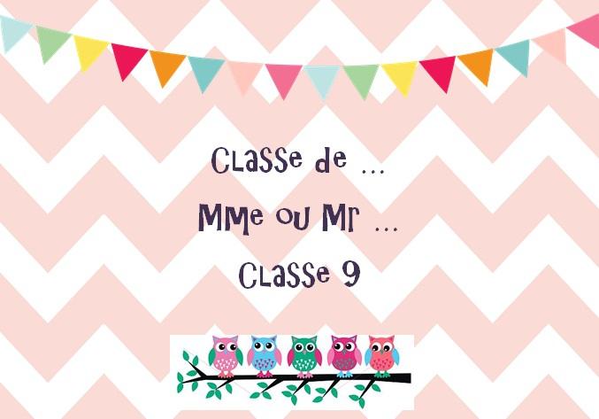 Super Affichages de la classe - Classe maternelle - Materptitelouts QT-08