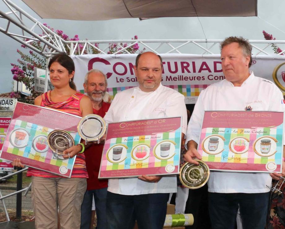 Les médaillés des CONFITURIADES 2019.png