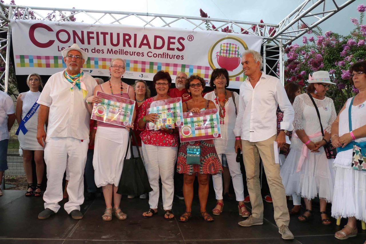 7 Les laureats du concours amateur 2019 Droits Les Confituriades de Beaupuy.jpg